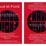 affiche Edition Chaud Froid A4